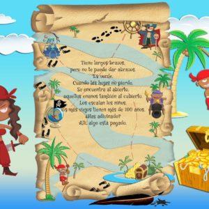Búsqueda del tesoro para niños - Paso 2