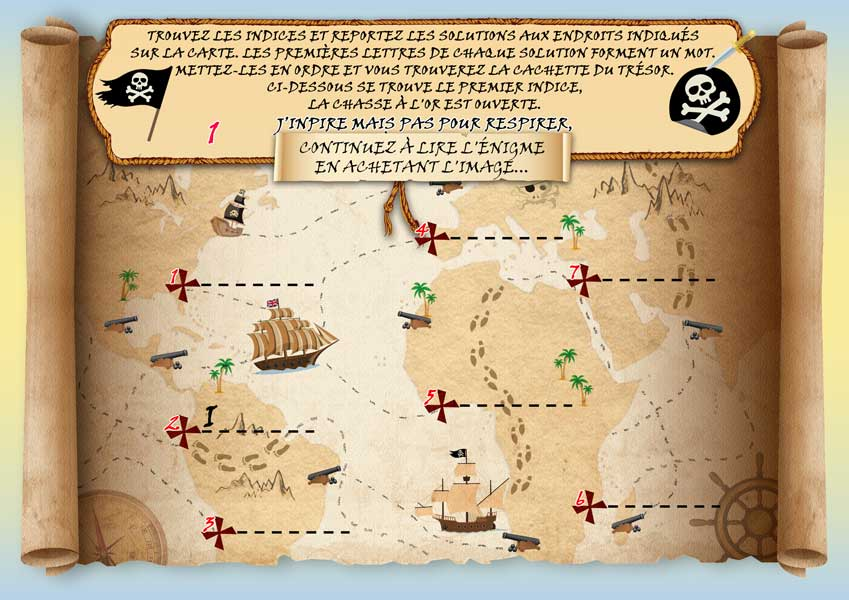 carte chasse au trésor Chasse au trésor avec carte   solution armoire   Griphos