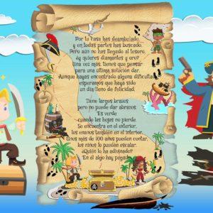 Búsqueda del tesoro para niños - Paso 3